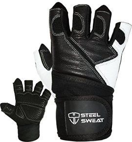 GYM GLOVES THAT ACT LIKE A SECOND SKIN: Our Zed workout gloves use our CoolWeaveTM performance material to provide a flexible fit, for enhanced ventilation and moisture wicking experience. Your sweat is allowed to evaporate and your hands to stay dry while you workout, providing you with a comfortable feeling that prevents skin irritation, calluses or sores. The back of the glove is covered in soft genuine leather for a premium look and feel. WHAT SIZE DO I GET? Check our sizing chart in the…