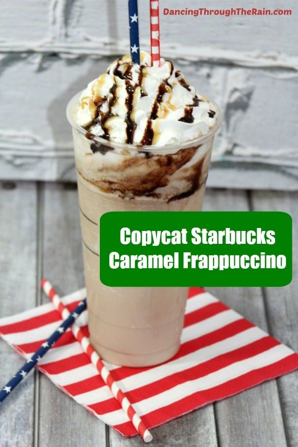 If you've been searching for a Caramel Frappuccino Starbucks recipe, look no further! Make this as a shake or add coffee for a boost!