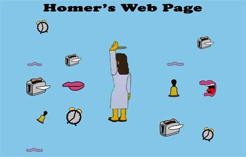 En #Malpaso también estamos trabajando en nuestra web.Nos hemos inspirado en la de Homer.