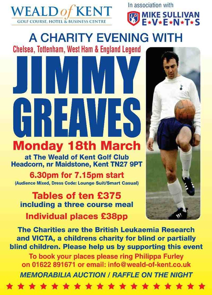 Sportsman Dinner with Jimmy Greaves