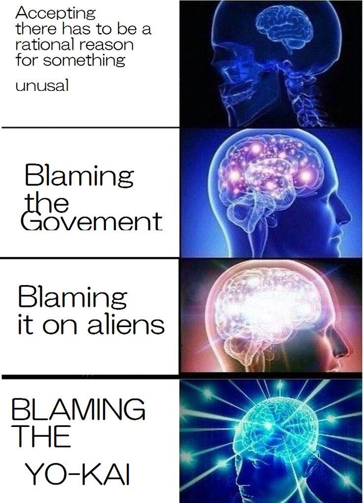 Yo-kai   Expanding Brain   Know Your Meme