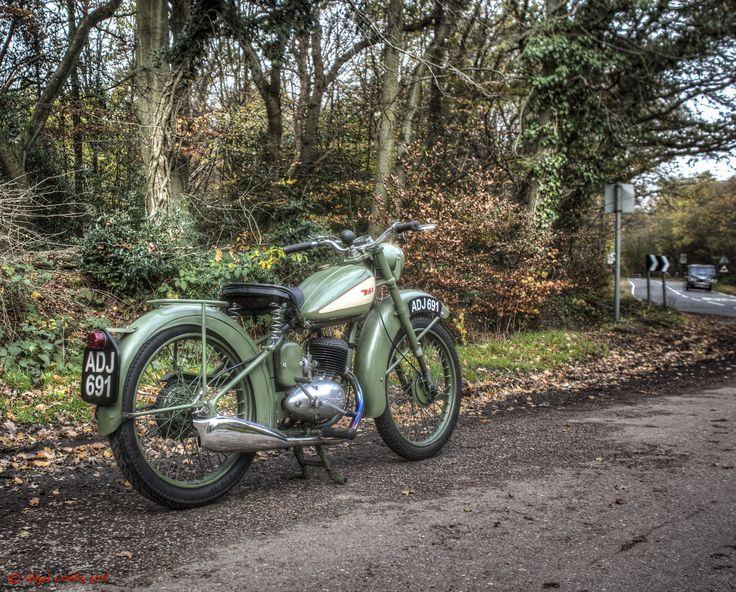 1949 BSA Bantam  3 - High Beech Epping Forest