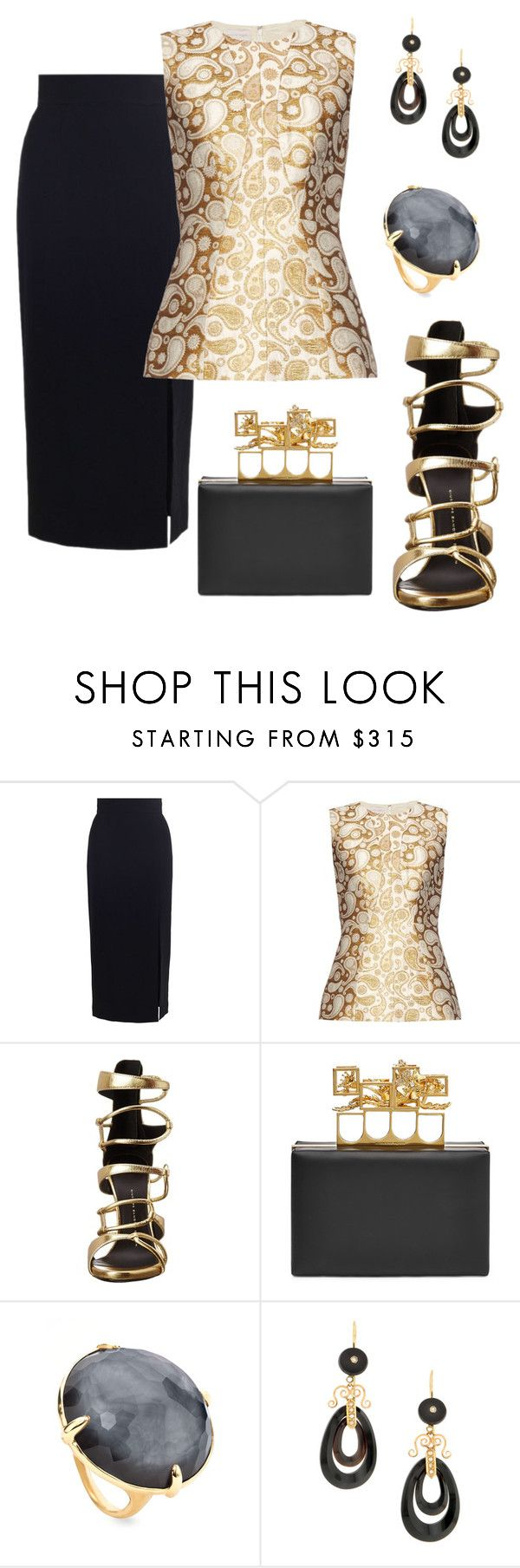 """You got me."" by schenonek ❤ liked on Polyvore featuring Zimmermann, STELLA McCARTNEY, Giuseppe Zanotti, Alexander McQueen and Ippolita"