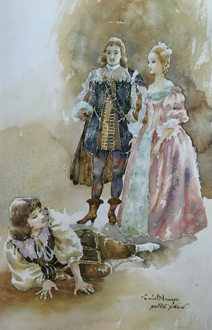 best ideas about twelfth night twelfth night orsino olivia and cesario viola in disguise from william shakespeare s twelfth night translated into thai by noppamas waewhong watercolor on paper