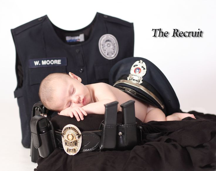 Baby Christopher, soon to be Police Officer....22 years.
