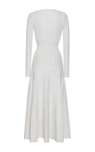 Barbara Casasola Bahia Long-Sleeve Knit Dress