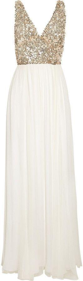 Este hermoso vestido esta hecho para brillar en una noche de gala <3