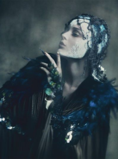 #Paolo Roversi #Vogue Italia #September 2011 #Haute Couture #Editorial #Fashion
