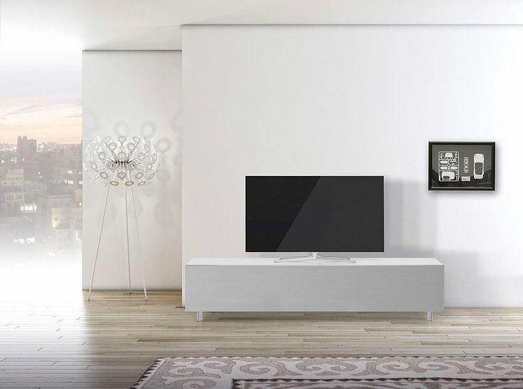 Fernsehschrank weiß  Die besten 25+ Tv rack weiß Ideen auf Pinterest | Tv möbel weiß ...