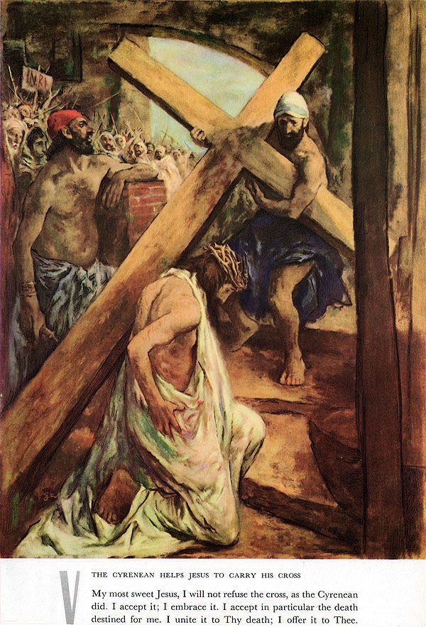 Ben Stahl, The Stations of the Cross, 1954