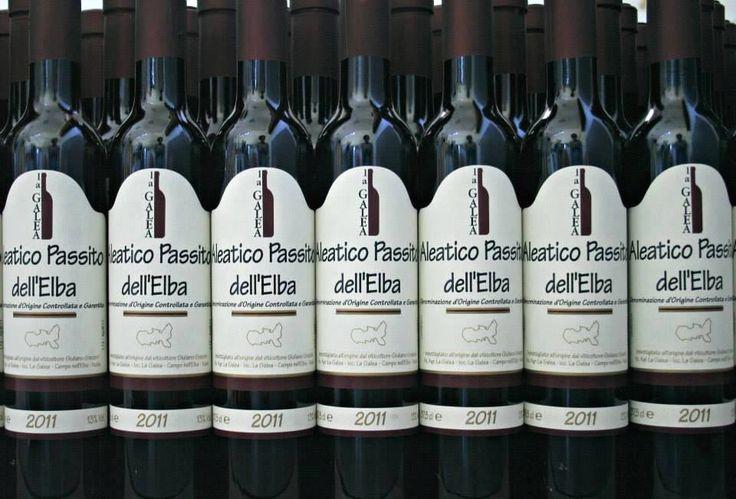 Bottiglie di Aleatico La Galea