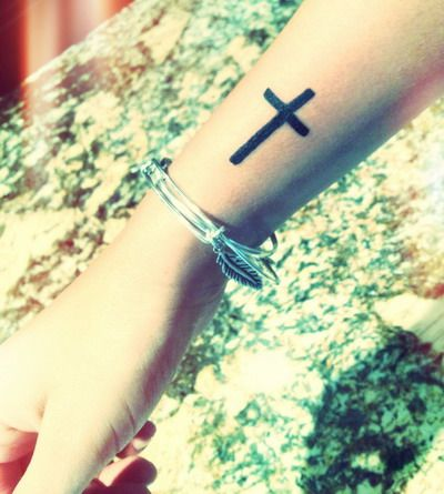 I want this on my foot, a constant reminder that Christ is walking with me