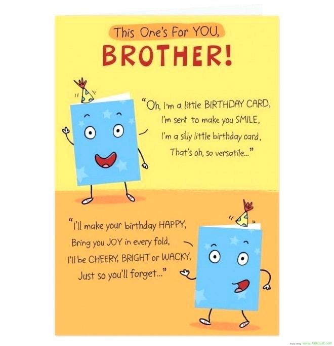 Gorgeous Funny Birthday Greetings For Brother Photographs Update Funny Bir Brother Birthday Quotes Happy Birthday Brother Wishes Funny Brother Birthday Quotes