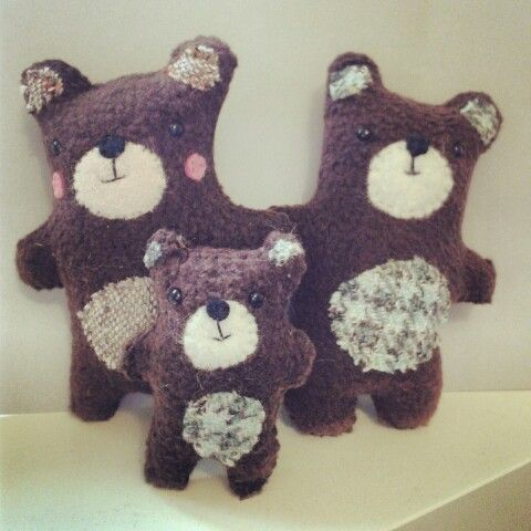 The 3 bears by www.poppetto.com
