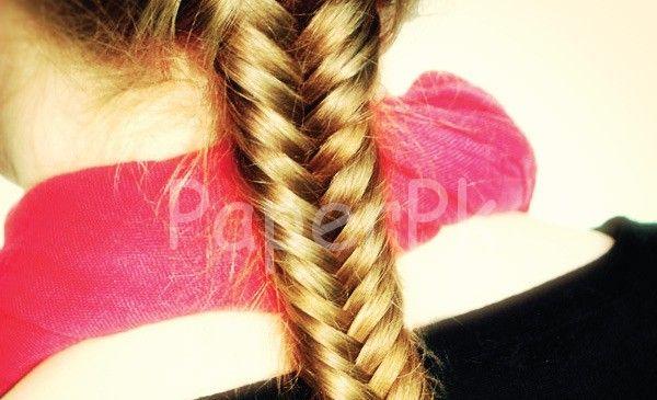 cool Fishtail Braid Tutorial #Braid #Fishtail #Tutorial