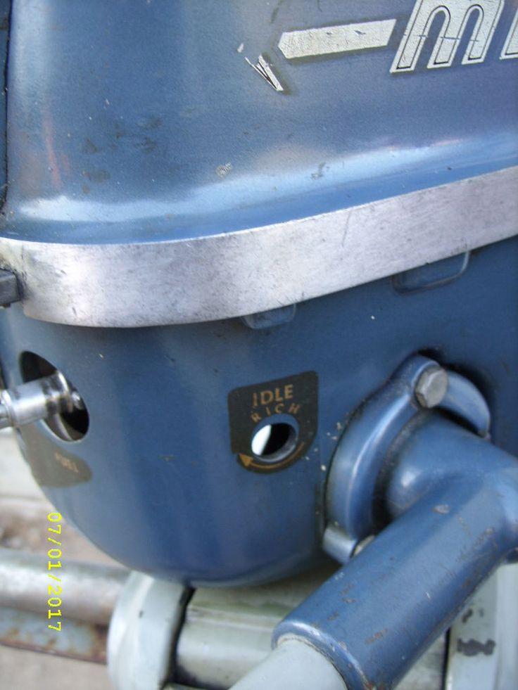 Vintage Mercury Outboard Motors For Sale