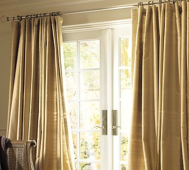 17 best images about drapes on pinterest silver lamp for Argollas para colgar cortinas