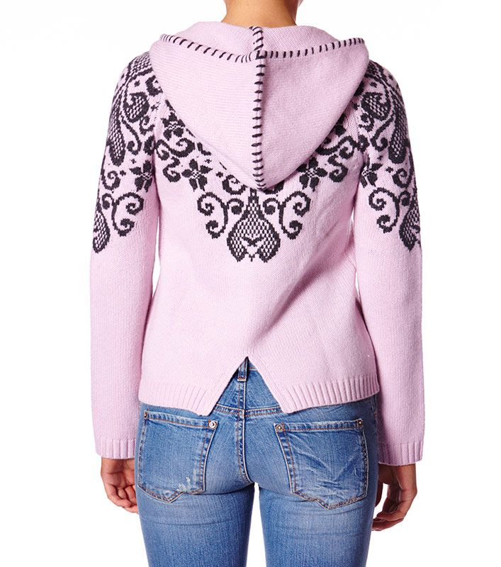 Odd Molly 934 Volcanic Hoodie in Dawn Pink
