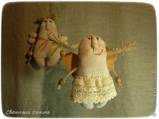 Куклы Шитьё Эльфики-примитивы Ткань фото 1