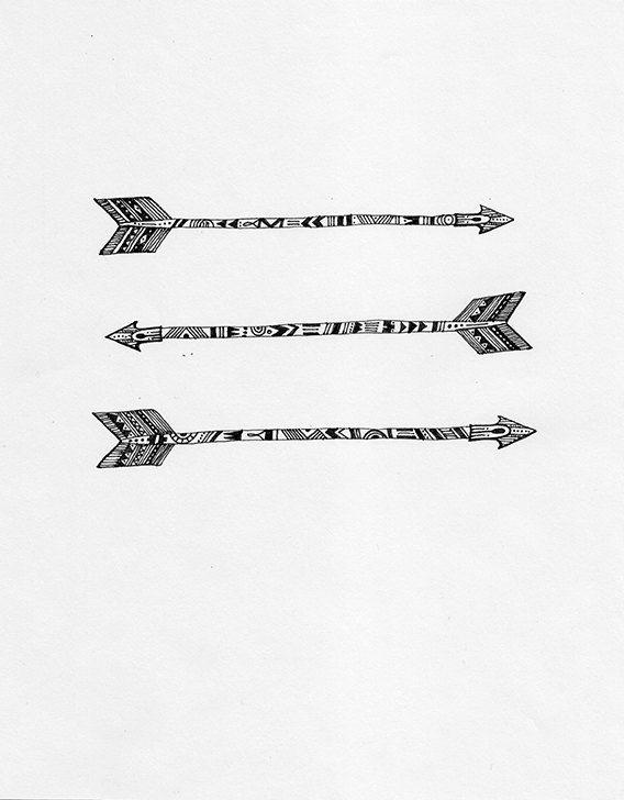 Tribal Arrow Art