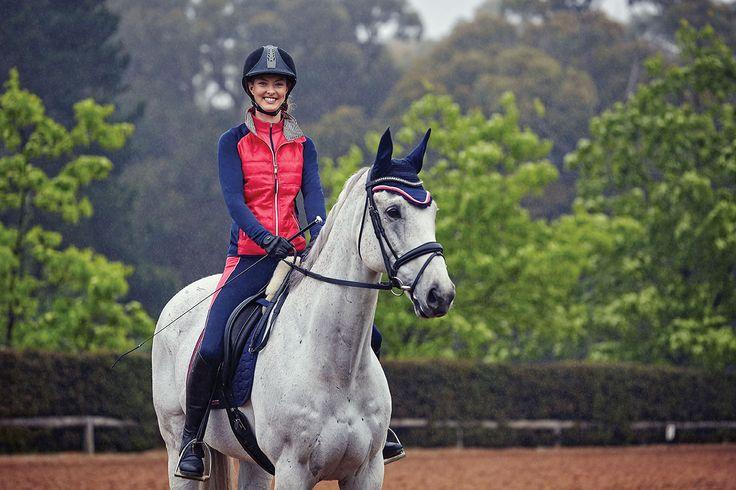 Georgia on ESB Irish Patience #horselandautumnwinter