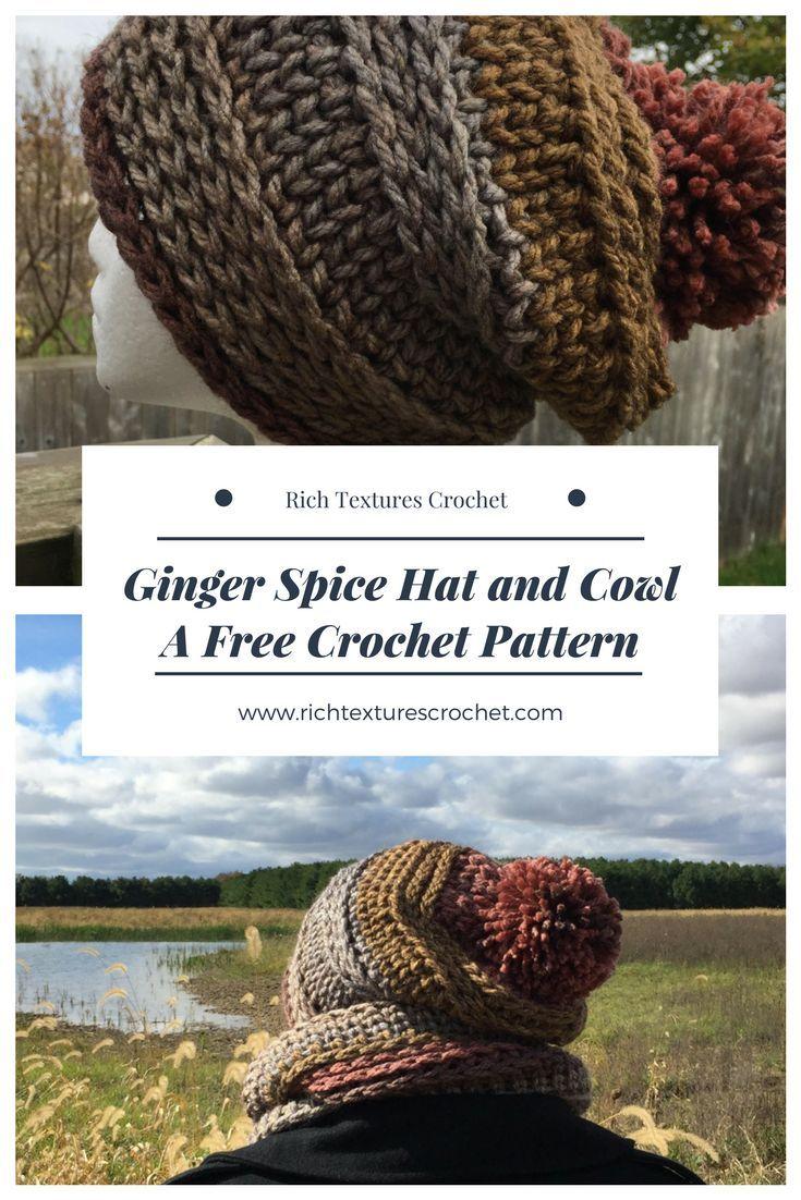 Mejores 754 imágenes de Let\'s Learn To Crochet Hats & Scarves en ...