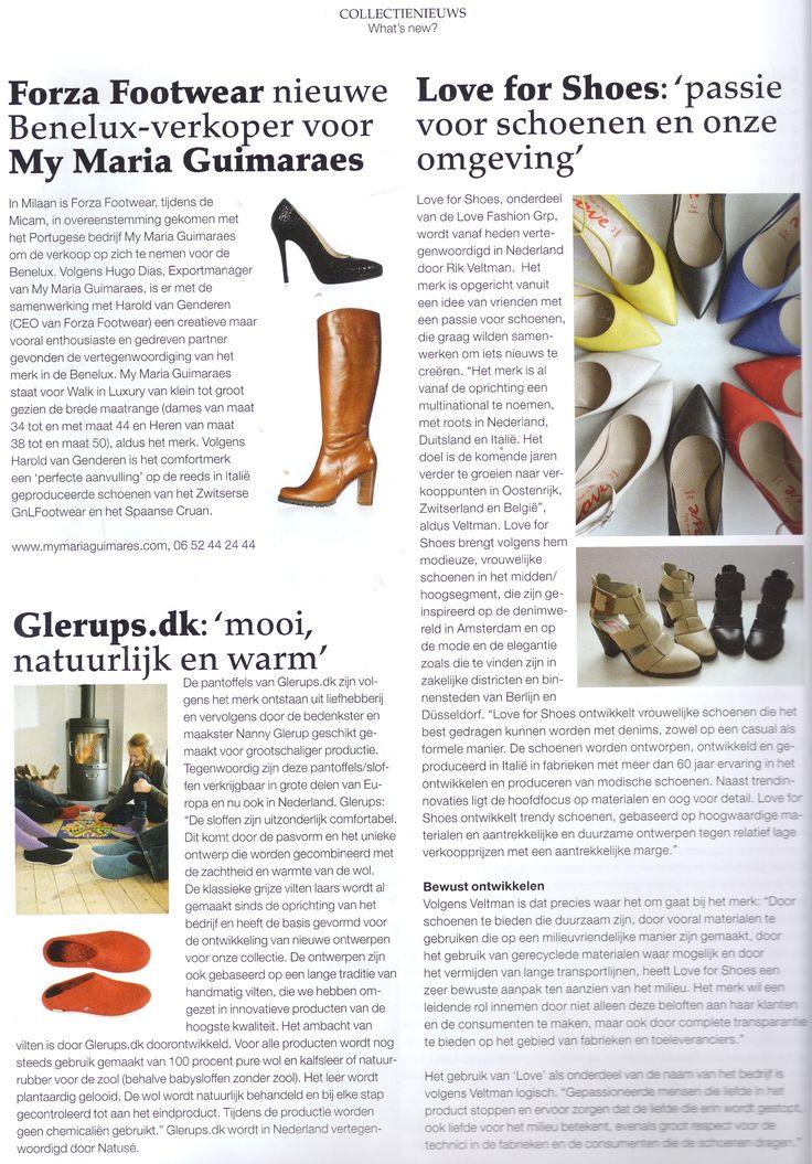 In Tred Magazine, Netherlands, September 2014