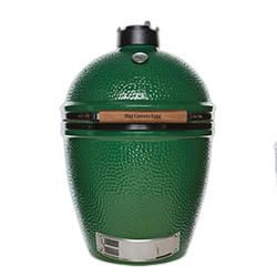 Large Big Green Egg... yes please! Will go nicely next to my gas bbq.