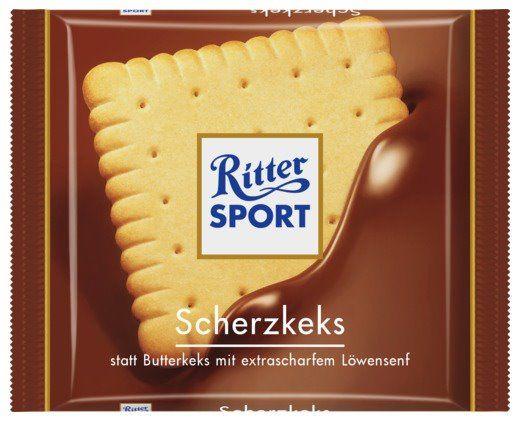 RITTER SPORT Fake Schokolade Scherzkeks