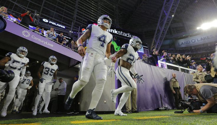 Cowboys-Vikings breaks Thursday Night Football viewership record = A lot of people tuned in to watch the Dallas Cowboys square off against the Minnesota Vikings on Thursday evening. So much so that the 21.8 million viewers broke a record for a Thursday Night Football game.....