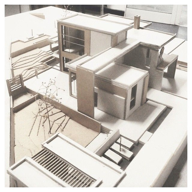 """{ boxes } // living spaces // awesome model by @sotis_cha ▲ #iArchitectures…"