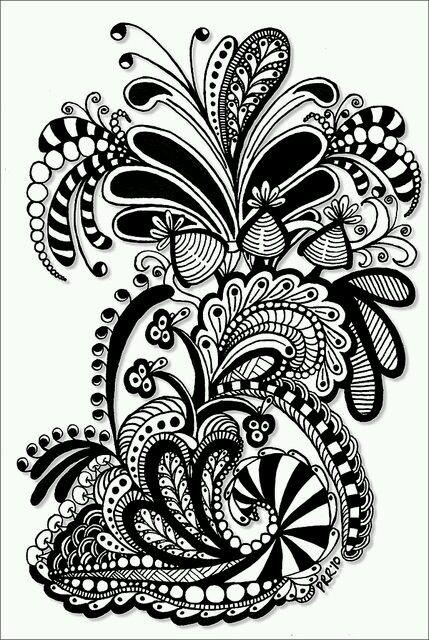 30 Besten Flower Drawings And Patterns RC Bilder Auf
