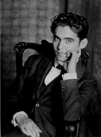 Federico García Lorca de joven