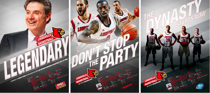 Louisville basketball posters out