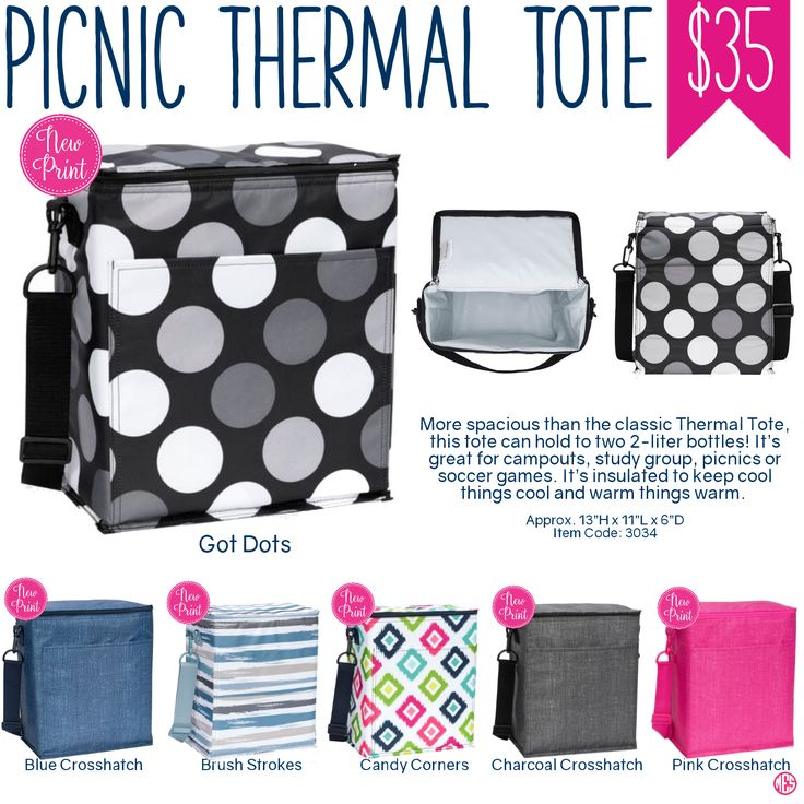 Thirty-One Picnic Thermal Tote - Spring/Summer 2017