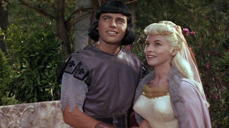 james mason as prince vaillant and janet leigh as princess aleta