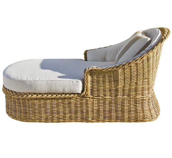 CHAISE AT FIREPLACE: Classic Chaise Lounge : Outdoor Furniture : The Wicker  Works