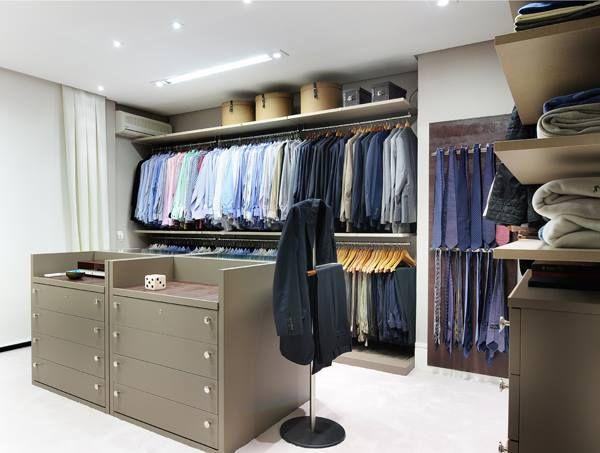 Um espaço para eles. #closet #masculino