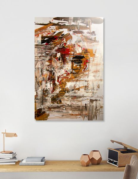 """Discover «""""Blind Ego""""», Exclusive Edition Aluminum Print by Bianca  Paraschiv Art - From $75 - Curioos"""