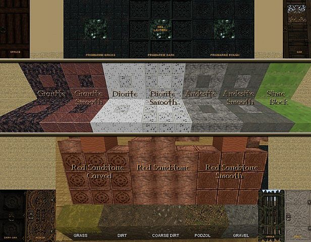 Ornate 5 Re-resurrected Core Resource Pack - minecraft resource packs : A semi-realistic, dark, intricate themed texture pack. Great for architecture, m ...  #resource #packs | http://niceminecraft.net/category/minecraft-resource-packs/