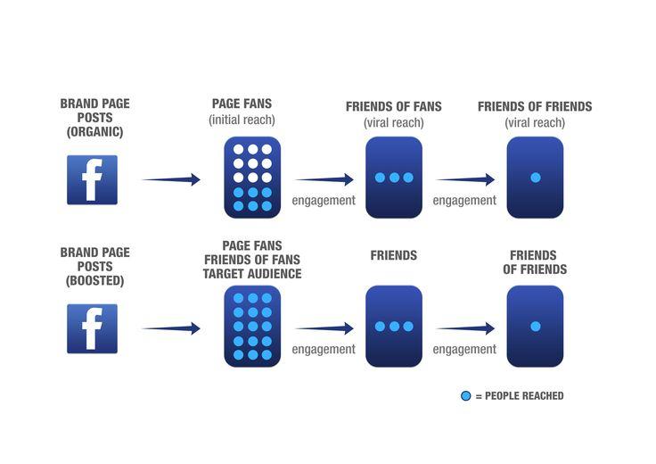 Facebook Engagement & Reach. #net101 #socialmedia