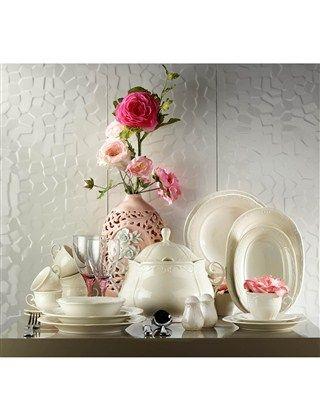 Kutahya Porselen - Caprice yemek takimi