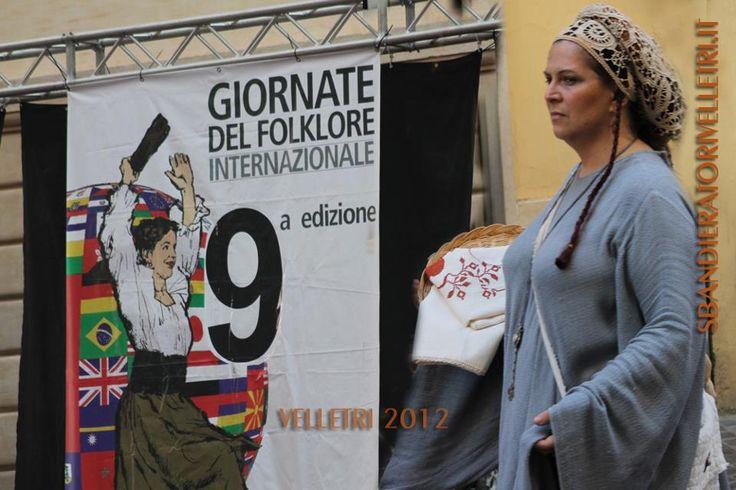 2012 Festival del Folklore VELLETRI Roma  http://www.sbandieratorivelletri.it