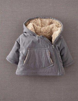 Cord Padded Jacket