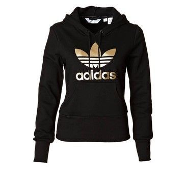 Zalando.de found on Polyvore featuring polyvore, fashion, clothing, tops, hoodies, jackets, shirts, sweaters, hooded pullover and adidas hoodies