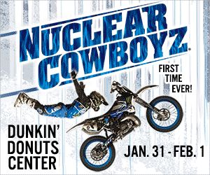 Nuclear Cowboyz Freestyle Motocross - 1st Time in RI : Macaroni Kid