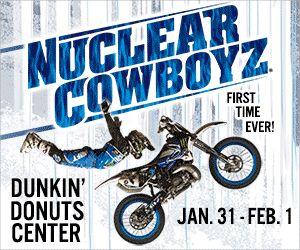 Nuclear Cowboyz Freestyle Motocross - 1st Time in RI : Macaroni Kid