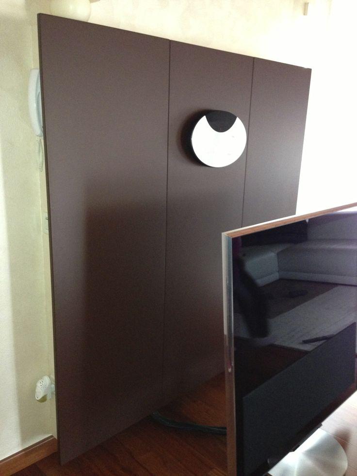 Mobile TV (decoder, sky, wii, DVD e varie nascoste da pannelli)