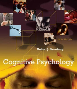 Cognitive Psychology by Robert J Sternberg 9780495506294 * Brand New * 5th ed http://textbooksandbooks.blogspot.com.au/