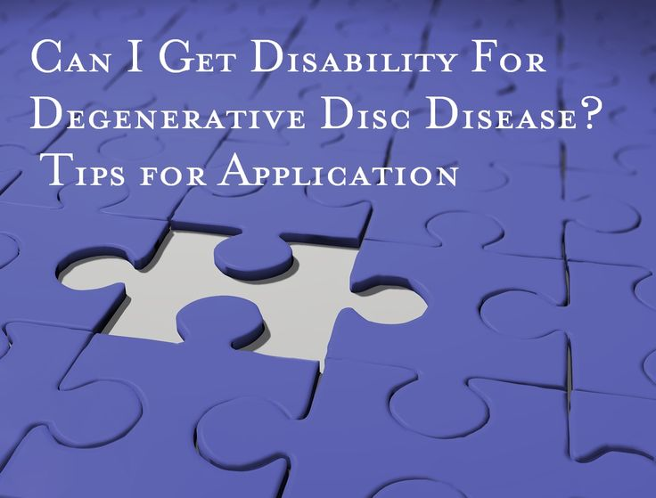 Degenerative Disc Disease pain and associated symptoms can impact your ability to work. Social Security Disability benefits may be available to you. #SSDI http://www.louisianadisabilitylaw.com/2014/02/can-i-get-social-security-disability-for-degenerative-disc-disease/